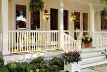 Front porch/back deck ideas