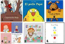 Selección de libros y cuentos para niños (2-3 años)