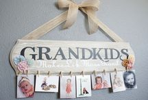 DIY Gifts for Grandparents / Unisub personalized products are perfect for grandparents!