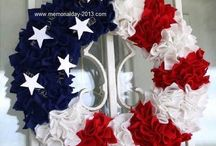 Memorial Day Crafts / Memorial Day Crafts Ideas for Kids, Children, Memorial Day Art and Crafts Activities for Adults