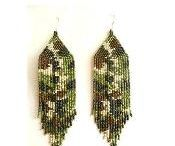 brick stitch patterns and jewelry / Enjoy;)