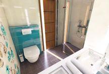 Kúpeľne / Bathrooms / Inšpirácie pre kúpeľňový dizajn.  Inspirations for bathroom design.