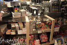 Rentrée 2015-2016 chez Sauramps / C'est déjà l'heure de la rentrée chez Sauramps !  Librairie - Bookshop - Librería - Llibreria
