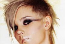 Bloody woman makeup