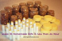 xmas gifts to make...