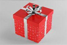 Gift Box Design Mock up