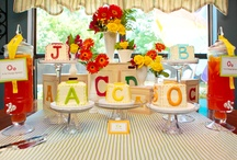 ee baby shower: abc theme