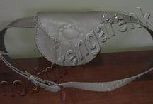 Deri Bel Çantası--Leather Waist Bag