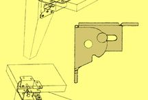 Folding table legs / Folding table legs