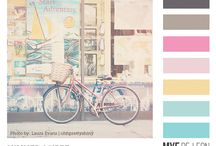 Color Inspiration / color palettes, swatches, .ASE files / by Mye De Leon
