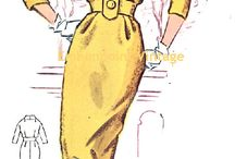 Sewing patterns - 50's