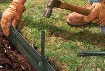 Garden Edging / How to make and use edging in the garden