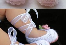crochet slipper