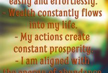 Affirmations and Mantra