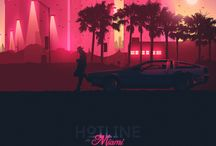 hotline miami / some artwork about a great game