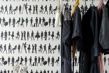 Wallpaper and wallcoverings / by Tineke Triggs