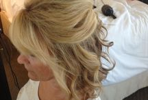 Wedding hair / Mother of the groom style for medium length hair / by Lisa Donnelly