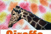 Giraffe Themed Learning / Teaching about giraffes or learning ideas to include in a giraffe unit study.
