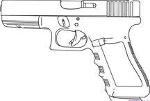 Ostatni pistole pro plakat