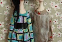 Dolls / puppets / art dolls /puppets - to inspire me to make dolls on my own,,, :)