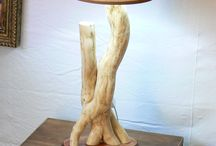 Drevene Lampy