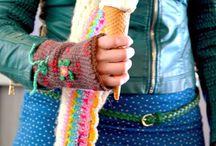 Haken kleding / haakideeeen voor sjaals, omslagdoeken etc