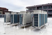 "Mitsubishi ""City Multi""- Commercial and Larger Residential homes / Ducted or ductless variable capacity VRF options available to heat and cool any home, office, server room or building."