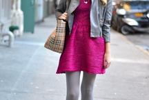 Dress and pantyhose