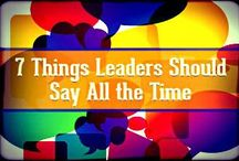 Leadership / by Kristen Fislar