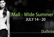 Dufferin Mall Wide Summer Sale 2014