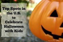 Halloween Fun / If your kids enjoy trick-or-treating or love a good scare, we've got the scoop on top spots in the U.S. that love to celebrate Halloween. #trekarooing