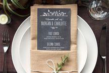 Bryllup: bord