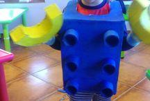 Lego kostym