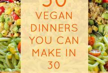 30 Vegan dinners in 30 min