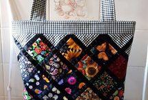 Quilt square bag