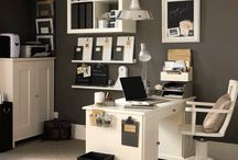 Home Office / Ideas for Home Office, Storage and Organization