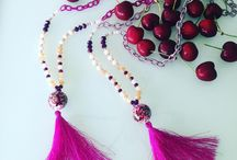 Tassel Statement / Handmade