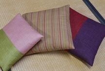Futon 布団 Japanese bedclothes, cushion