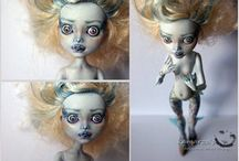 Monster High Face-ups I love / Beautiful Monster High face-ups which inspire and awe me!