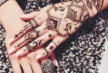 Tatuaggi artistici henné