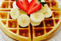 Waffles / Protein and Paleo. YUM