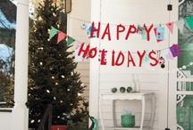 Merry & Bright / Christmas, winter, holidays