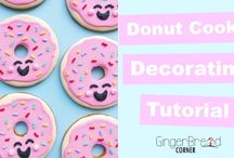 Our Cookie Tutorials / Cookie decorating tutorials we have made for our YouTube channel.