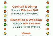 Indian wedding invites