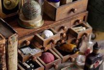 Cabinet de curiosités....
