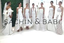 #NYFW: Sachin & Babi Bridal S/S 2016 / NU EVOLUTION was the Beauty Sponsor of Sachin & Babi's Spring/Summer Bridal Show at New York Fashion Week! Find out more about the designer at http://www.sachinandbabi.com/