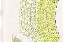 вязаное платьице крючком