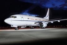 Luxurious Business Jet Cabin