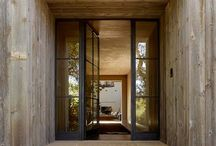 new front doors / by Brenda Harshman