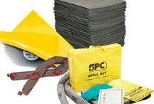 Seguridad Industrial Melcsa / Absorbentes y Contención de Derrames, Bloqueo y Etiquetado